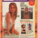 Sports Illustrated Swimsuit Calendar PRINT AD Heidi Klum, Kristy Hinze supermodels advert 2001