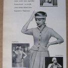 Kubler '50s German PRINT AD womens clothing vintage advertisement 1957