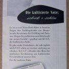 Kult soap '50s German PRINT AD vintage advertisement 1957