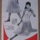 Benger Ribana '50s German PRINT AD Perlon slips lingerie vintage advertisement 1957