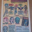 BEN COOPER Super Halloween costumes '70s PRINT AD Isis Batman Superman vintage advertisement 1976