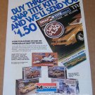 Monogram Snap Title model kits '80s PRINT AD vintage advertisement 1981