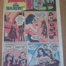 Hostess Cup Cakes '80s PRINT AD Wonder Woman and the Baron vintage comic book advertisement 1980