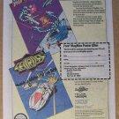 Magmax / Seicross '80s PRINT AD arcade video game advertisement 1989