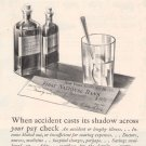 Aetna-ize Life Insurance '20s Medicine Accident Advertisement Original Ad Vintage 1925