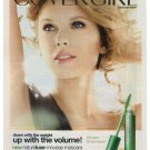 Taylor Swift CoverGirl Cosmetic Makeup NatureLuxe Advertisement Ad Clipping 2011