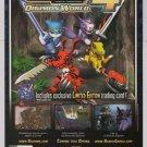 DIGIMON WORLD 4 video game PRINT AD Bandai advertisement 2005