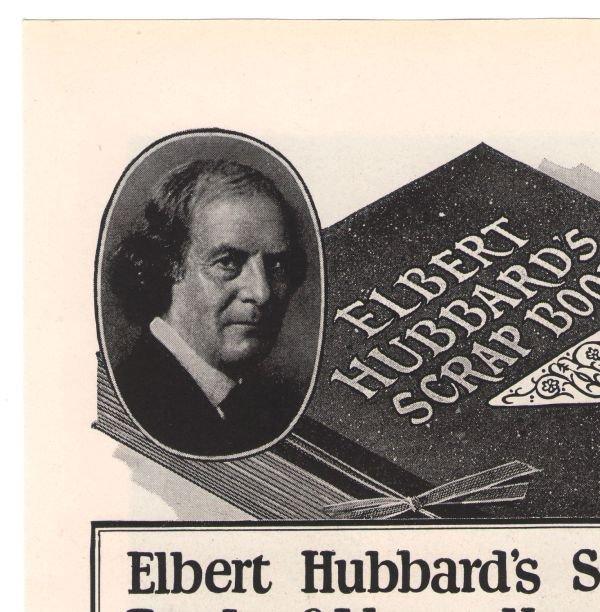 Elbert Hubbard's Scrap Book '20s Roycroft Coupon Advertisement Print Ad Vintage