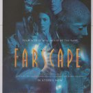Farscape PRINT AD tv series Claudia Black science fiction advertisement 2000