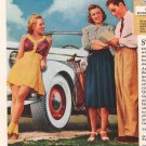 General Tire '30s Ladies Squeegee Wrinkle Automotive Auto Print AD PAGE Vintage 1939
