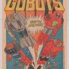 CHALLENGE OF THE GOBOTS '80s cartoon show PRINT AD Hanna-Barbera advertisement 1985