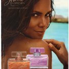 Halle Berry Fragrance Beach Sand Perfume Sexy Advertisement Ad Clipping 2010