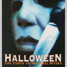 HALLOWEEN: The Curse of Michael Myers '90s PRINT AD horror movie advertisement 1995