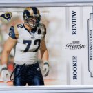 2009 Playoff Prestige Chris Long RC Auto #115/250