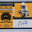2011 playoff contenders Curtis Brinkley RC/AU
