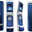 Motorola KRZR-K1 Blue