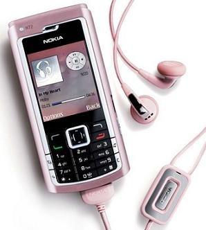 Nokia N72 Pink