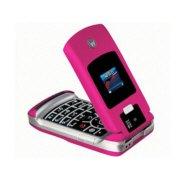 Motorola V3x GSM World Cell Phone (Unlocked)-Pink