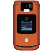 Motorola V3x (Orange) Razr GSM World Cell Phone