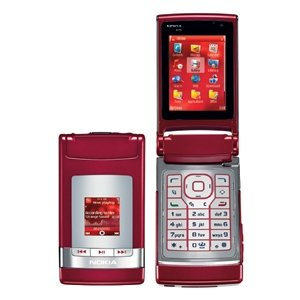Nokia - N76 - Red Unlocked GSM Phone With Multimedia Player And 2-Mexapixel Camera