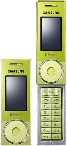 Samsung SGH - X830 Unlocked GSM Cell Phone (Green)