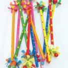 可愛的鴨仔船槳鉛筆8106 6隻色 小朋友用 禮物 玩具 pencil with duck