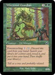 Wirewood Guardian - Magic The Gathering