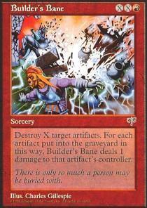 Builder's Bane - Magic The Gathering