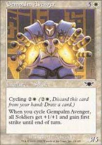 Gempalm Avenger - Magic The Gathering