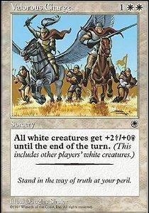 Valorous Charge - Magic The Gathering