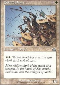 Sword Dancer - Magic The Gathering
