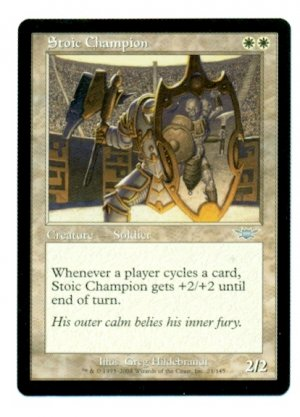 Stoic Champion - Magic The Gathering