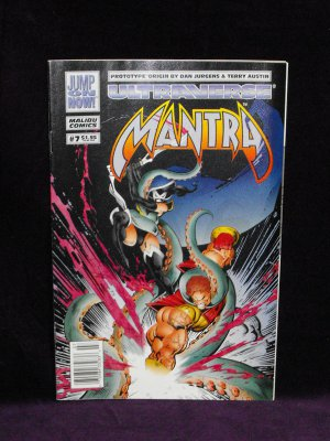 Malibu Comics - Mantra Lot 01 (Colector Item) (7 comics)