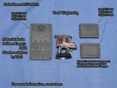 Miscellaneous Sci-Fi Kit - (Bits for WARHAMMER 40K Mordheim) - MSF-0001A