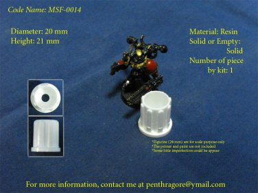 Sci-fi Cylinder - (Bit for WARGAME) - MSF-0014