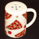 Fitz & Floyd OCI Large Ceramic Grated Parmesan Pizza Cheese Shaker