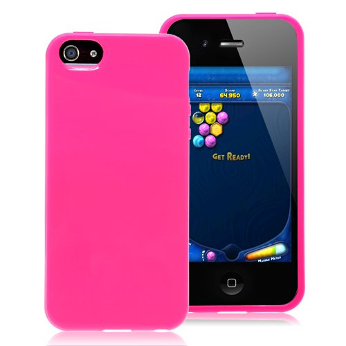 Solid Color Case For iPhone 5 & 5S - Pink