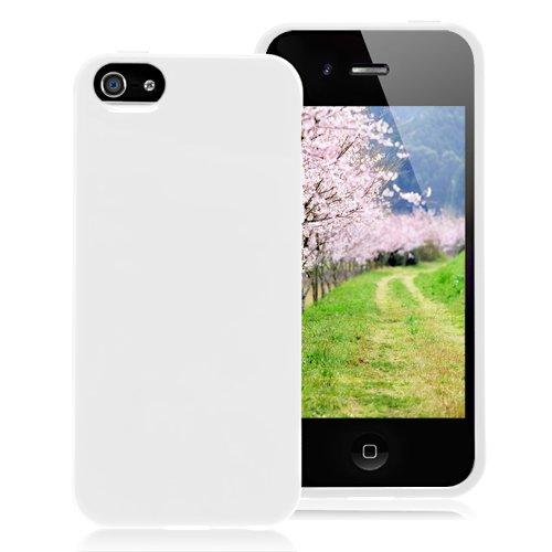 Solid Color Case For iPhone 5 & 5S - White