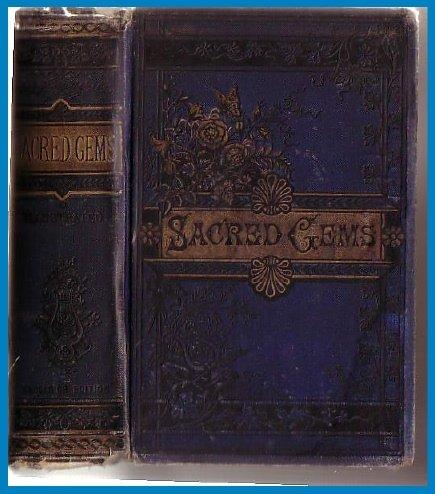 Sacred Gems-1880's English POETS-Poetry-HB