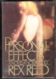 SIGNED REX REED-Personal Effects-First ED HB DJ-1986