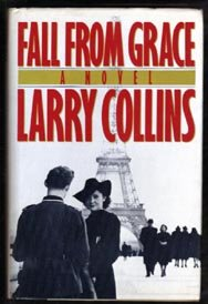 SIGNED-LARRY COLLINS-Fall From Grace-First ED HB DJ-1985