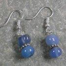 Blue Agate STERLING SILVER EARRINGS