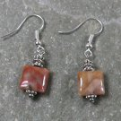 Crazy Agate STERLING SILVER EARRINGS