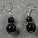 Black Agate STERLING SILVER EARRINGS
