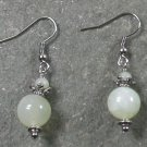 New Jade Sterling Silver Earrings