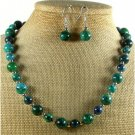 AFRICAN TURQUOISE 3PCS JEWELRY SET