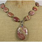 NATURAL MUGER JASPER NECKLACE