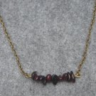 Handmade NATURAL GARNET NECKLACE