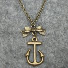 Handmade LOVELY ANCHOR NECKLACE