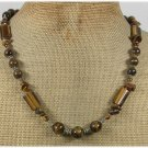 Handmade NATURAL TIGER EYE NECKLACE